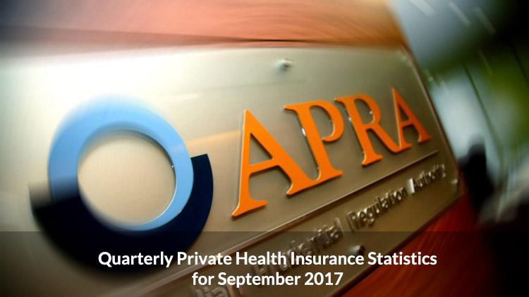 APRA Quarterly Private Health InsuranceReport